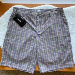 Adidas Plaid Golf Shorts NWT Size 38